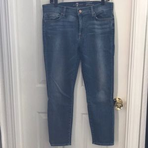 7 For All Mankind Cropped Gwenevere 31